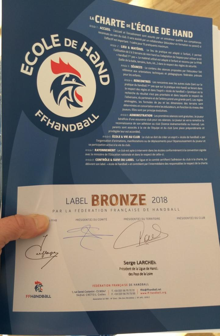 Label de Bronze 2018