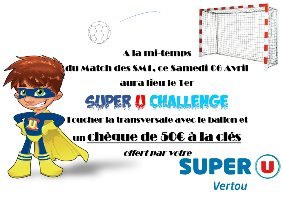 Le challange SUPER U du 6 avril 2019